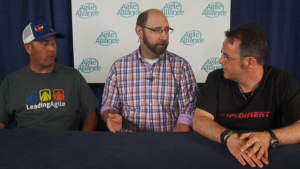Agile2015 Video Podcast - Chris Spagnuolo and David Bland