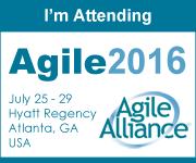 I'm at Agile 2016
