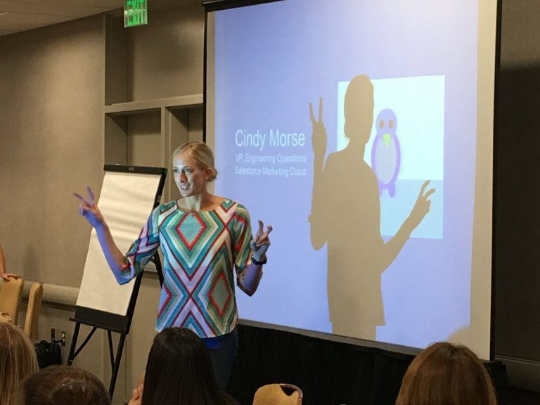 Women in Agile keynote speaker Cindy Morse