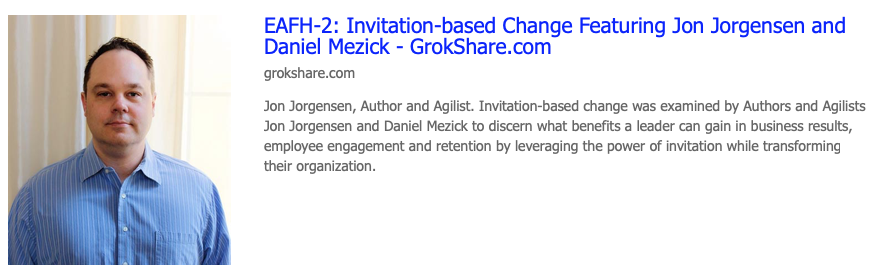 Invitation-based change