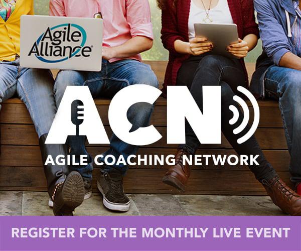 Agile Coaching Network ACN Webcasr