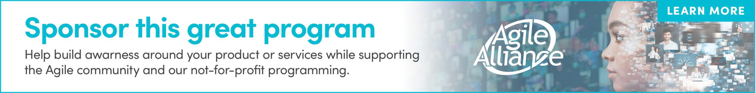 Agile Program Sponsorship