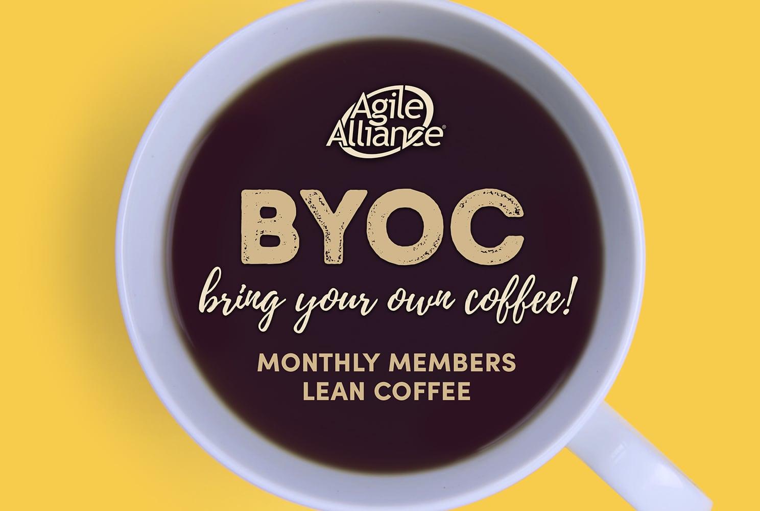 Agile Alliance BYOC Member Lean Coffee